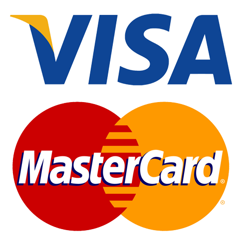 Visa / Mastercard Accepted at Schuurman lasercut
